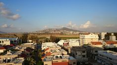 View on Givat HaMore Afula north Israel
