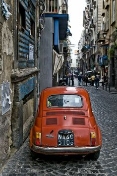 Vespa, Fiat Cinquecento, Fiat Abarth, Retro Cars, Vintage Cars, My Dream Car, Dream Cars, Fiat 500 S, Fiat Cars