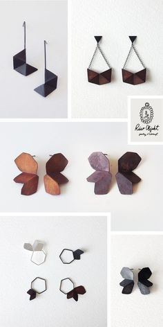 Fresh and Modern Handmade Jewelry From Raw Objekt