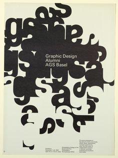 Dan Friedman, Graphic Design Alumni AGS Basel, Philadelphia College of Art, December 1-29, 1967