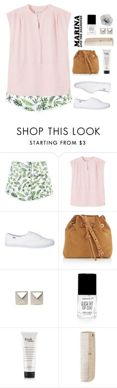 """""""All alone as you look through the door"""" by painterella ❤ liked on Polyvore featuring Chicnova Fashion, MANGO, Vanessa Bruno, Emilie Morris, Forum, Forever 21, HAY and WallPops"""