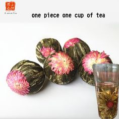 Olympics Promotion 5pcs flower tea Dragon Ball,Drink chinese green tea Pearl Jasmine scented tea,win Olympics Promotion 5pcs flower tea Dragon Ball,chinese green tea Pearl Jasmine scented tea healthy drink  Free Shipping