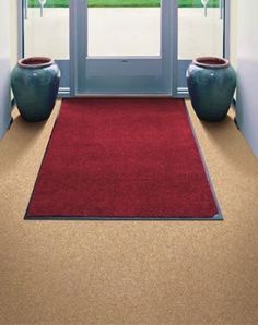 Carpet Mat Pro - Indoor Mat - Commercial Grade - 3' x 19' - Black by Doormats & More. $240.99. These commercial grade indoor / covered outdoor mats are both beautiful and durable. They are intended to compliment any business or home decor while taking a beating. Lush, solution dyed nylon carpet covers these sturdy dependable mats, trapping dust and moisture below the surface before it enters your place of business or residence. They are backed with 100% nitrile rubb...