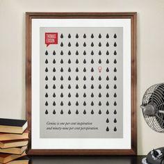Vet idee om een quote toe te voegen aan een muur met een patroon. Of foto's. of gewoon.. De muur hoeft niet per se over de quote te gaan!