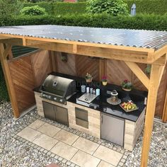 10 Outdoor Kitchen Ideas and Design - Trend Outdoor Küche –. Informations About 10 Outdoor Kitchen Ideas and Design - Trend Outdoor Küche – unser Ratgebe Outdoor Kitchen Patio, Outdoor Kitchen Design, Outdoor Living, Outdoor Decor, Outdoor Grill Area, Outdoor Ideas, Rustic Outdoor Kitchens, Outdoor Grill Station, Grill Gazebo
