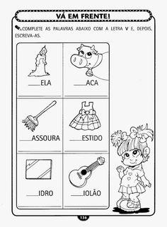 Educação Infantil Atividade-131 Portuguese Language, Zen, Toddler Learning, Homeschool, Diagram, Classroom, Comics, Hinata, Literacy Activities