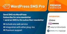 WP SMS Pro Free Download - Wordpress Plugin Sent sms on mobile number using…