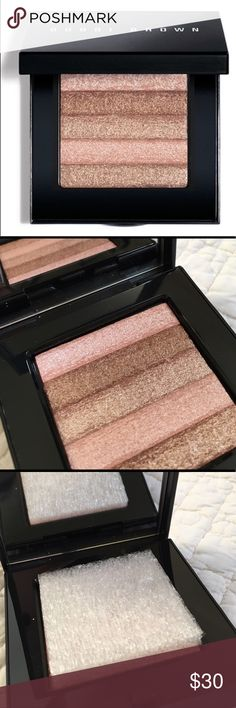 BOBBI BROWN Shimmer Brick Compact - Pink Quartz New in box. Achieve a glowing hint of shimmer with Bobbi Brown's shimmer brick. Five shades infused with superfine pigments that reflect radiance and light. For cheeks and eyelids, too! Never used. Bobbi Brown Makeup Bronzer
