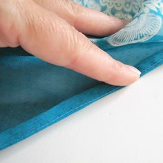 The Haby Goddess: Tutorial: How to hem Chiffon and other sheer fabrics.