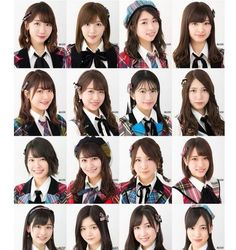 The List Of 40 Japanese Idols On Produce 48!