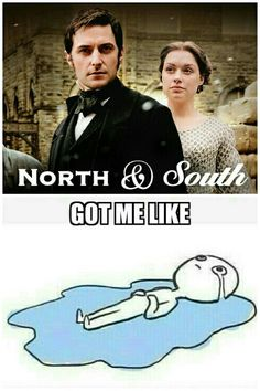 North and South BBC, Gaskell can be a bit tragic at times.