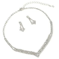 Inspired by arrows-  V-shape Necklace & Matching Arrow Shape Dangle Earrings Jewelry Set Topwholesalejewel,http://www.amazon.com/dp/B00EUG5HR6/ref=cm_sw_r_pi_dp_lZ7Isb1YPPJ8RW3T