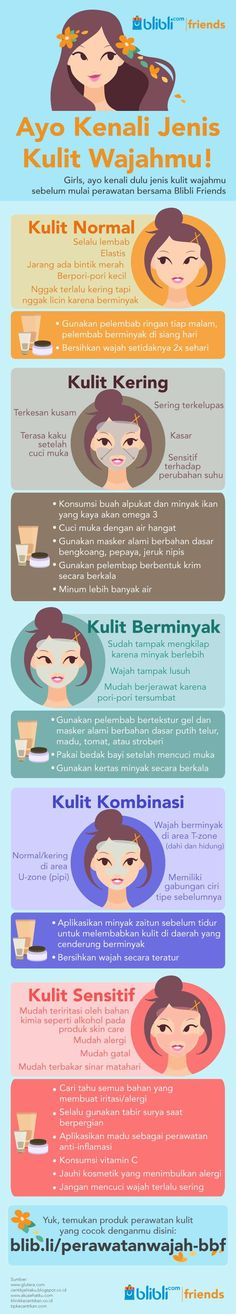 JenisJenis Kulit Pada Umumnya is part of Health skin care - Skin Care Routine Steps, Skin Care Tips, Healthy Beauty, Health And Beauty, Beauty Care, Beauty Skin, Girl Hair Colors, Face Skin Care, Face And Body