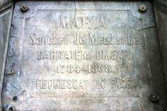 Una nieta de Napoleón también duerme su sueño eterno en la Recoleta