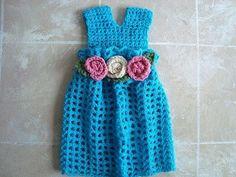 Crochet  GIRLS DRESS WITH YOKE, jumper, summer dress, special occasion, crochet pattern. how to diy
