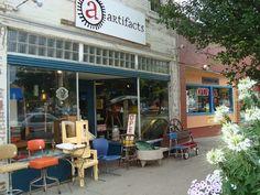 Artifacts 331 Market Street Iowa City, IA 52245 319.358.9617 Vintage Clothing & Furniture