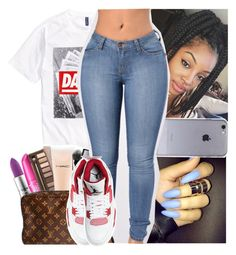 """Im just tryna get to know ya"" by theyknowtyy ❤ liked on Polyvore featuring H&M"
