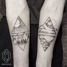 чёрный, чернила, татуировка, татуировки