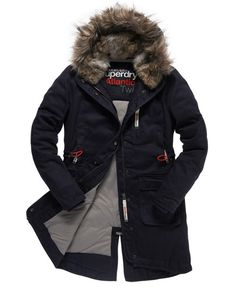 Superdry Atlantic Twill Parka- I've been searching in stores for something that looks like this