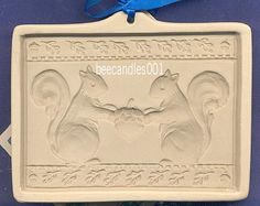 Brown Bag Cookie Mold ~ 2004 TWO SQUIRRELS