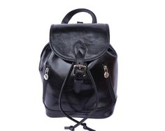 LaGaksta Abby Italian Leather Backpack Purse and Shoulder Bag