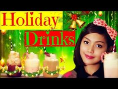 Ep.4 - Quick and Easy Holiday Drinks #HolidayWithBoni ❄ - YouTube