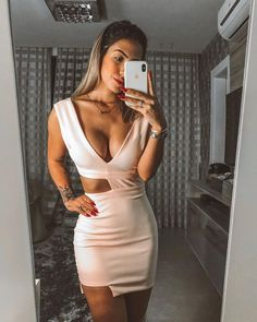 Swans Style is the top online fashion store for women. Shop sexy club dresses, jeans, shoes, bodysuits, skirts and more. Romper Dress, Dress Me Up, Dress Skirt, Bodycon Dress, Party Fashion, Look Fashion, Girl Fashion, Fashion Outfits, Cute Young Girl