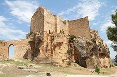 The castle at Montesa, Spain