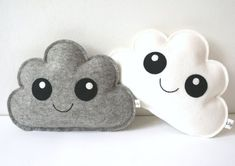 Cloud Pillows  set of two newborn baby gift Gender от LilyRazz #babygifts