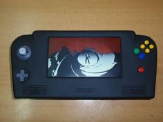 N64 turned into a handheld.