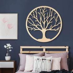 Holzdeko Pappel Furnier   Baum Des Lebens