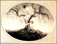 """NEW PRINT LOUIS ICART 20s-30s  Arts & Crafts  Art Deco """"BLOSSOM TIME""""  122"""