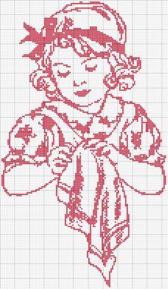 net weaving, cross stitch or crochet