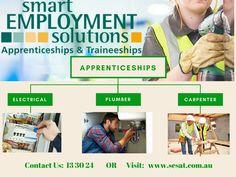 Smart Employment Solutions for 30 years the established leader in mechanic apprenticeship, carpentry apprenticeship, plumbing apprenticeship, QLD, NSW. Construction Jobs, Job Search, Gold Coast, 30 Years, Carpenter, Brisbane, Plumbing, Branches