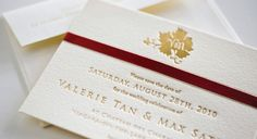 Palettera Custom Correspondences & Graphic Design, Luxury Couture Wedding Invitations, Letterpress Stationery | Toronto, Markham, Unionville, Hong Kong, International