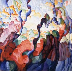 Irregular Forms: Creation Frantisek Kupka (Bohemia, Opocno, active France, 1871-1957)