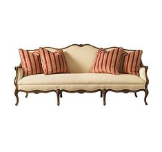 Bridgette Sofa from the Henredon Upholstery collection by Henredon Furniture