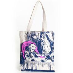 Alice in Wonderland tote bag | Outofprintclothing.com #bought