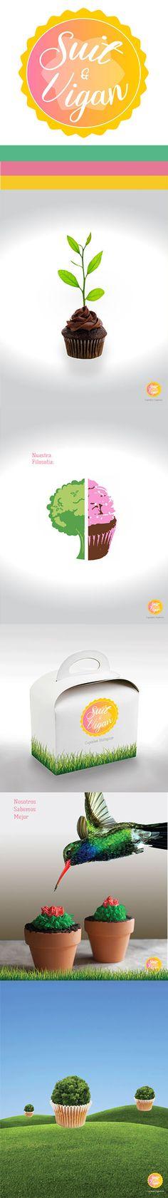 Proyecto de dirección de arte. Cupcakes orgánicos