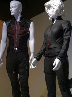 Avengers(2012) Hawkeye and Black Widow Costumes Designed By Alexandra Byrne
