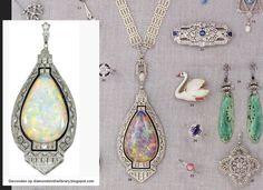 Opaal hanger Op de folder van Johan Rozendaal 1979 Nieuw gemaakt ?