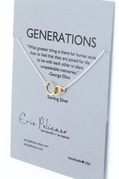 Shop for Grandmother Gifts and Mother Daughter Jewelry. Gifts for Mom, and gifts to celebrate every milestone! Delicate sterling silver jewelry that celebrate the bond between Mom and her children any time from baby showers, birthday gifts, or wedding party gifts!