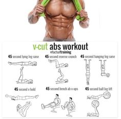 Get great v-cut abs