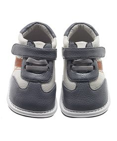 Love this White & Gray Sneaker by Jack & Lily on #zulily! #zulilyfinds