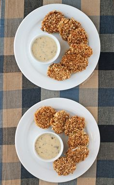 These Baked Un-Fried Pickles are a healthier way to eat this crunchy, salty snack. Just 90 calories or 3 Weight Watchers SmartPoints per serving! www.emilybites.com