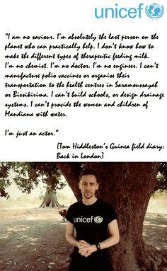 Tom Hiddleston's Guinea field diary: Back in London http://blogs.unicef.org.uk/2013/02/01/tom-hiddlestons-guinea-field-diary-back-in-london/