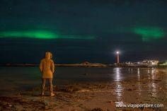 Donde ver auroras boreales en Noruega