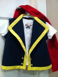 Jake and the Neverland Pirate Costume Vest by ticklemetooboutique, $50.00