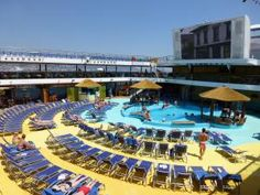 Inside the Carnival Breeze: A Photo Tour: Outdoor Decks and Exterior Common Areas