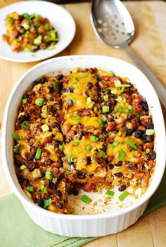 This flavorful casserole can be made in advance for a quick and easy meal.